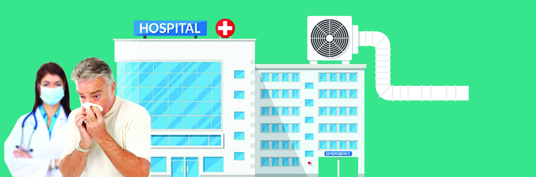 HVAC for healthcare hospitals