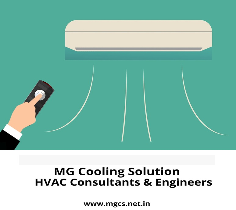 Centralized Air Conditioning for Cooling Interiors